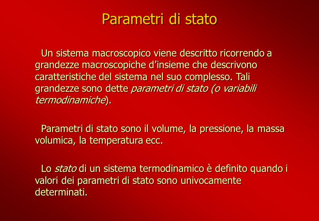 Parametri di stato