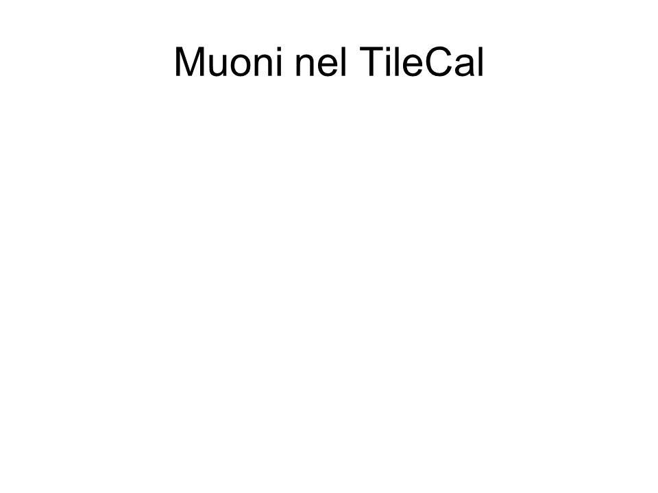 Muoni nel TileCal
