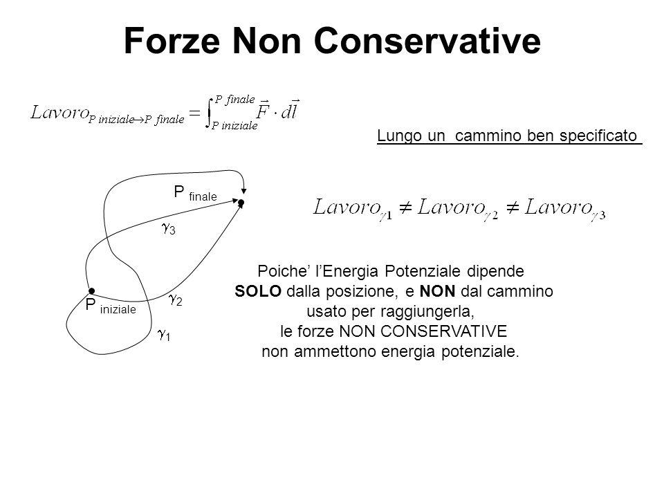 Forze Non Conservative