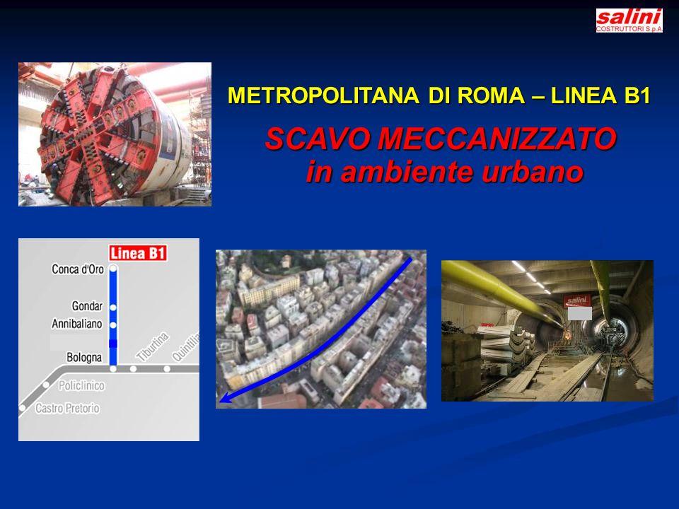 METROPOLITANA DI ROMA – LINEA B1