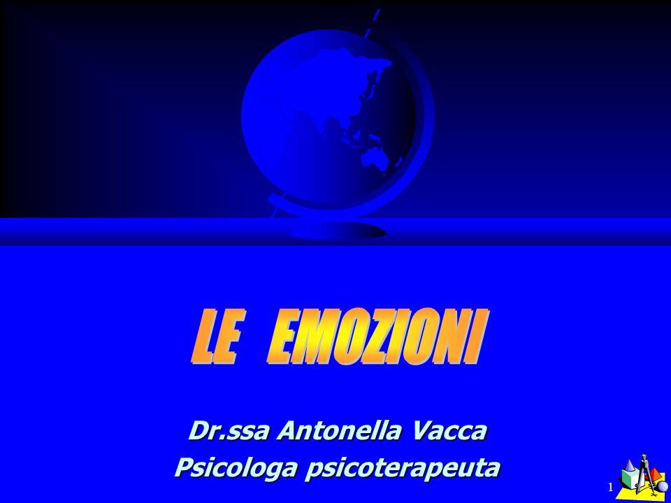 Dr.ssa Antonella Vacca Psicologa psicoterapeuta