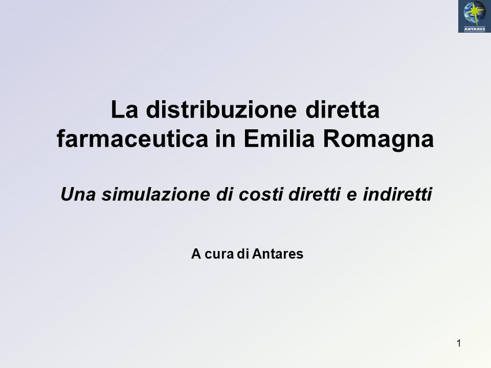La distribuzione diretta farmaceutica in Emilia Romagna Una simulazione di costi diretti e indiretti