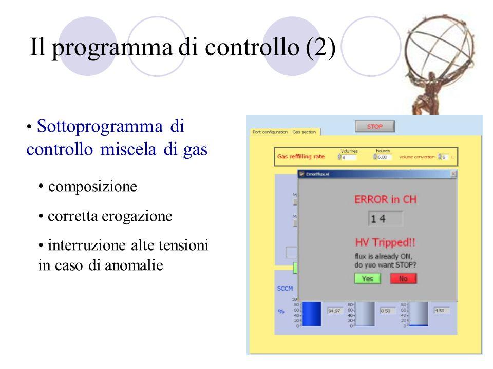 Il programma di controllo (2)