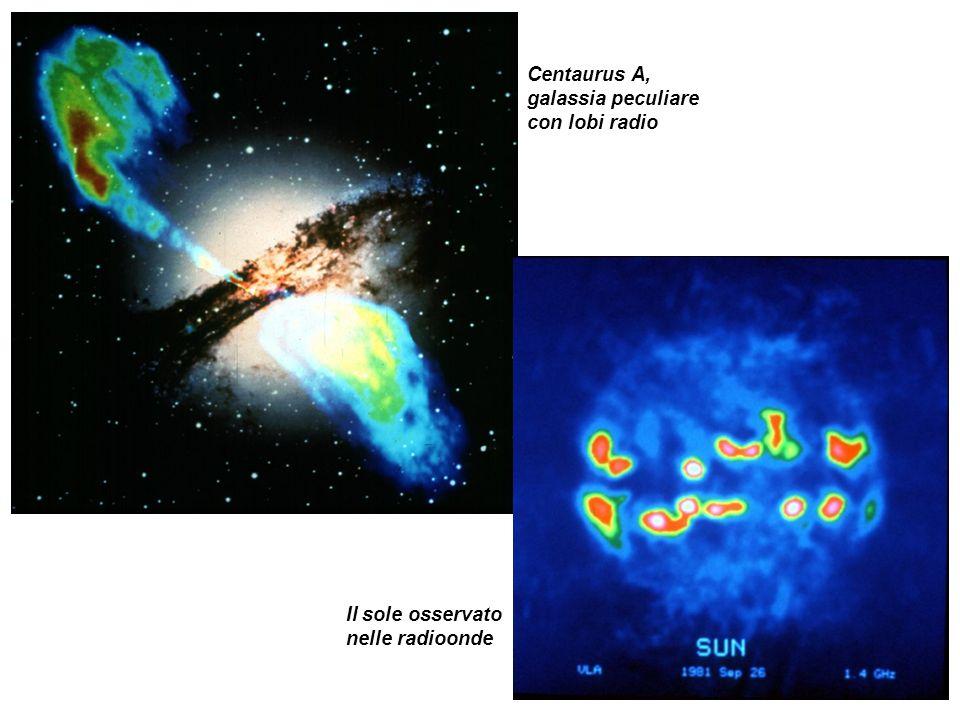 Centaurus A, galassia peculiare con lobi radio
