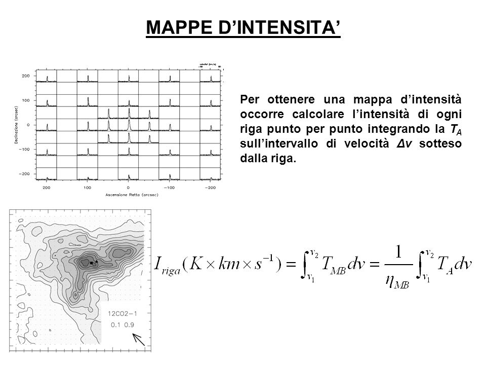 MAPPE D'INTENSITA'
