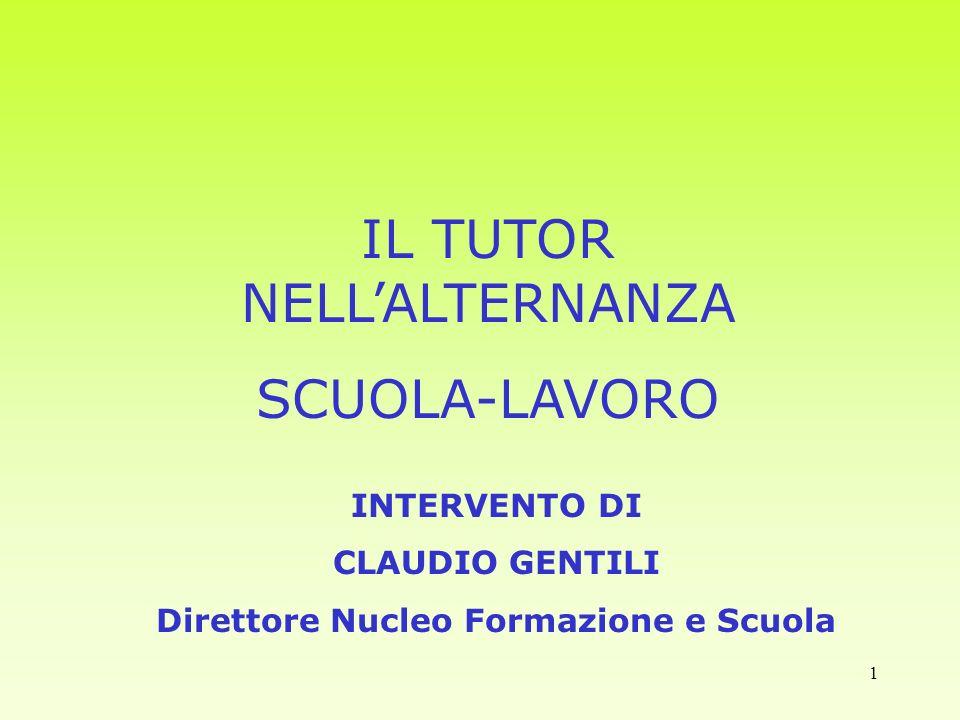 Direttore Nucleo Formazione e Scuola