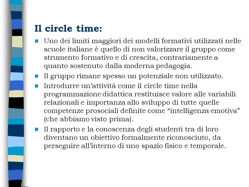 Il circle time: