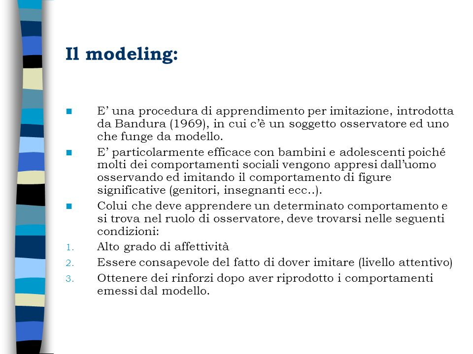 Il modeling: