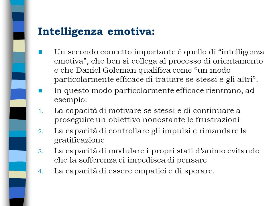 Intelligenza emotiva: