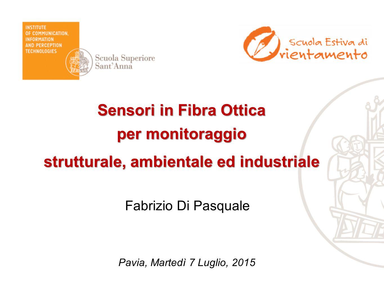 Sensori in Fibra Ottica strutturale, ambientale ed industriale