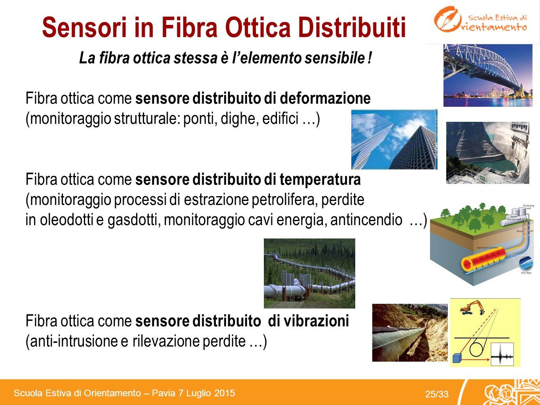 Sensori in Fibra Ottica Distribuiti