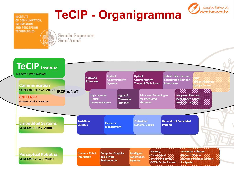 TeCIP Institute TeCIP - Organigramma Communication IRCPhoNeT