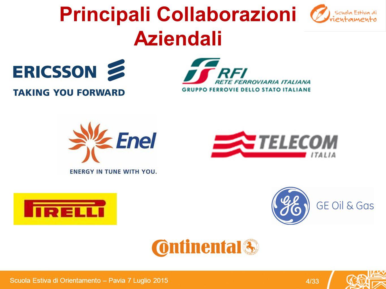 Principali Collaborazioni Aziendali