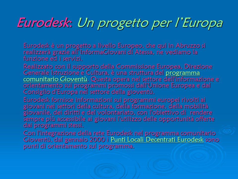 Eurodesk: Un progetto per l'Europa