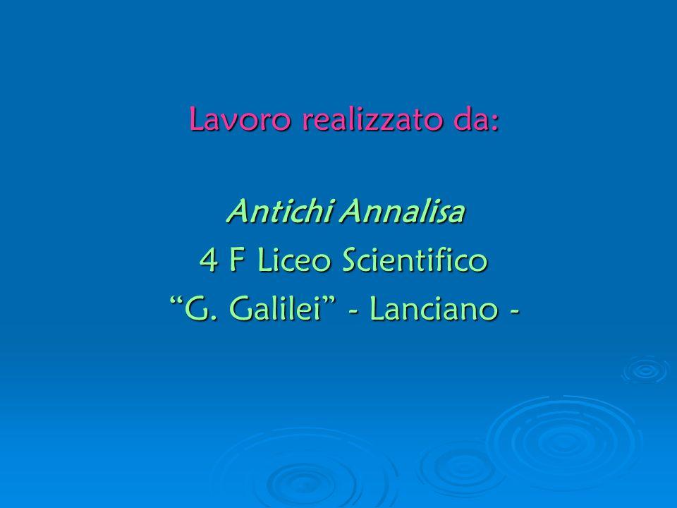 G. Galilei - Lanciano -