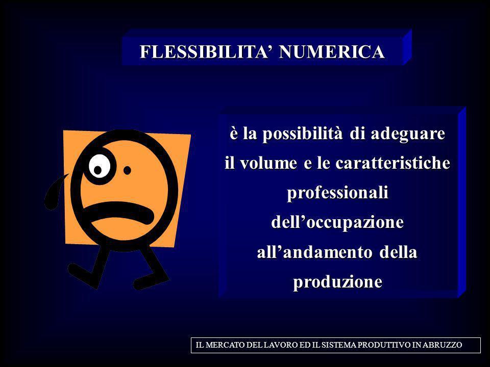 FLESSIBILITA' NUMERICA