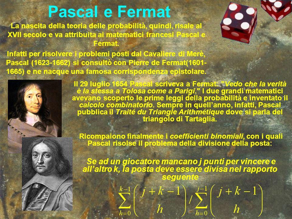 Pascal e Fermat