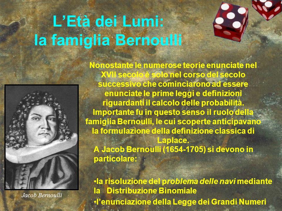 L'Età dei Lumi: la famiglia Bernoulli
