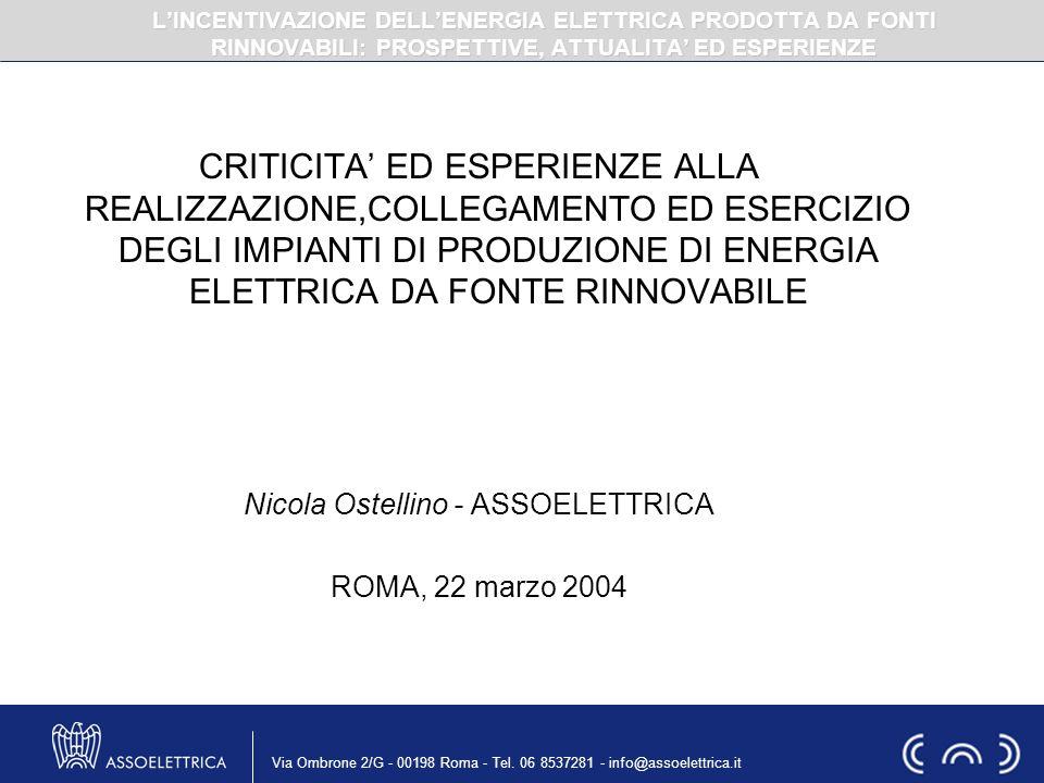 Nicola Ostellino - ASSOELETTRICA