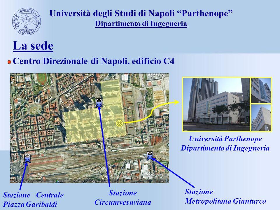 La sede Università degli Studi di Napoli Parthenope