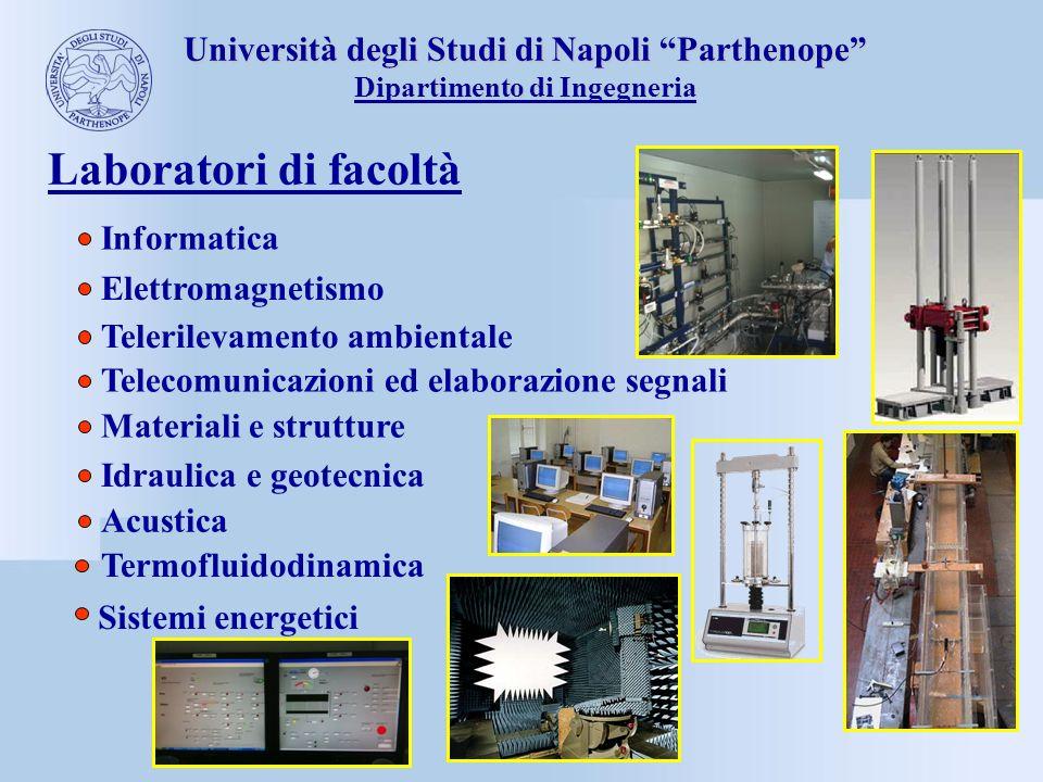 Laboratori di facoltà Università degli Studi di Napoli Parthenope