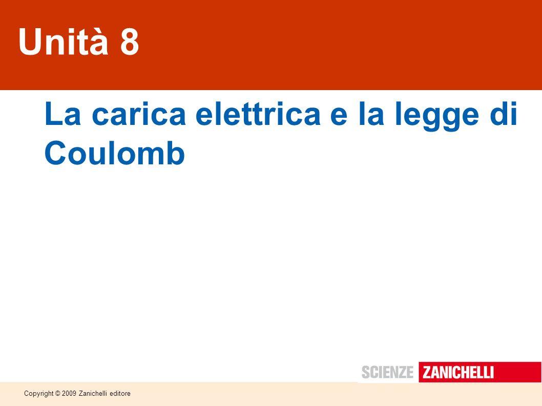 La carica elettrica e la legge di Coulomb
