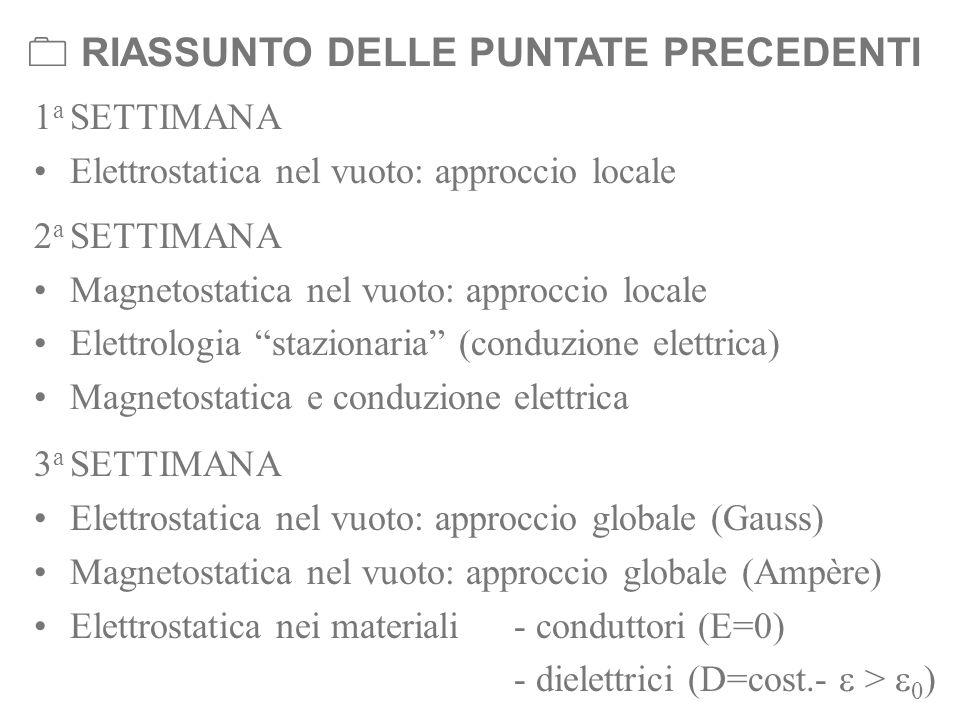  RIASSUNTO DELLE PUNTATE PRECEDENTI