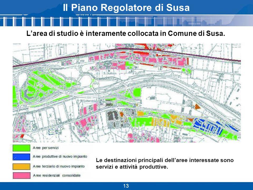 Il Piano Regolatore di Susa