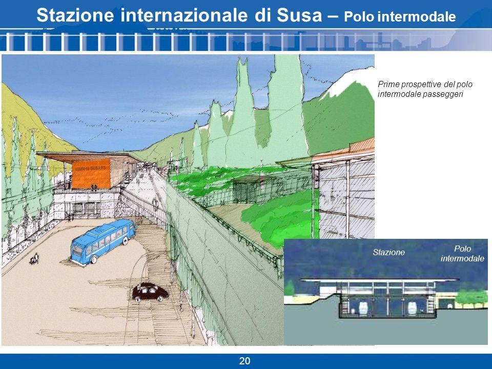 Stazione internazionale di Susa – Polo intermodale