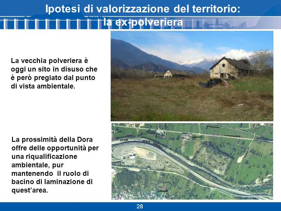 Ipotesi di valorizzazione del territorio: