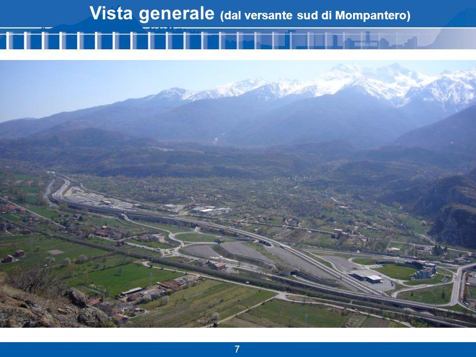 Vista generale (dal versante sud di Mompantero)