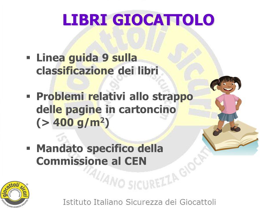 LIBRI GIOCATTOLO Linea guida 9 sulla classificazione dei libri
