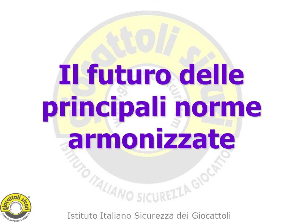 Il futuro delle principali norme armonizzate
