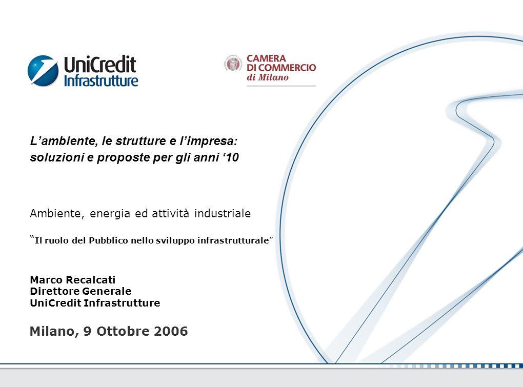 Marco Recalcati Direttore Generale UniCredit Infrastrutture