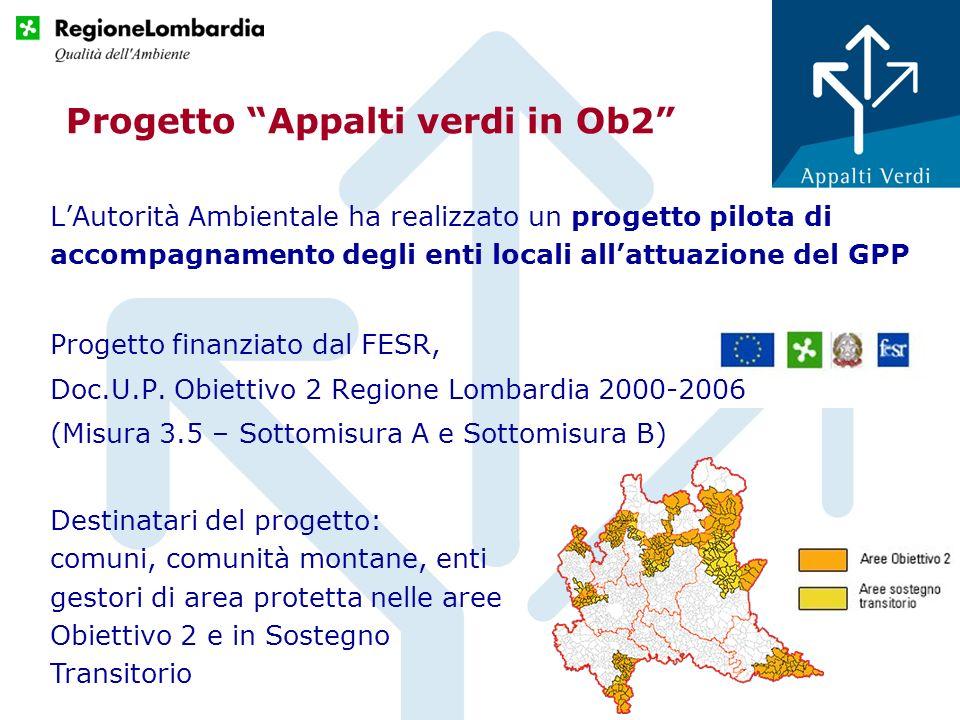 Progetto Appalti verdi in Ob2