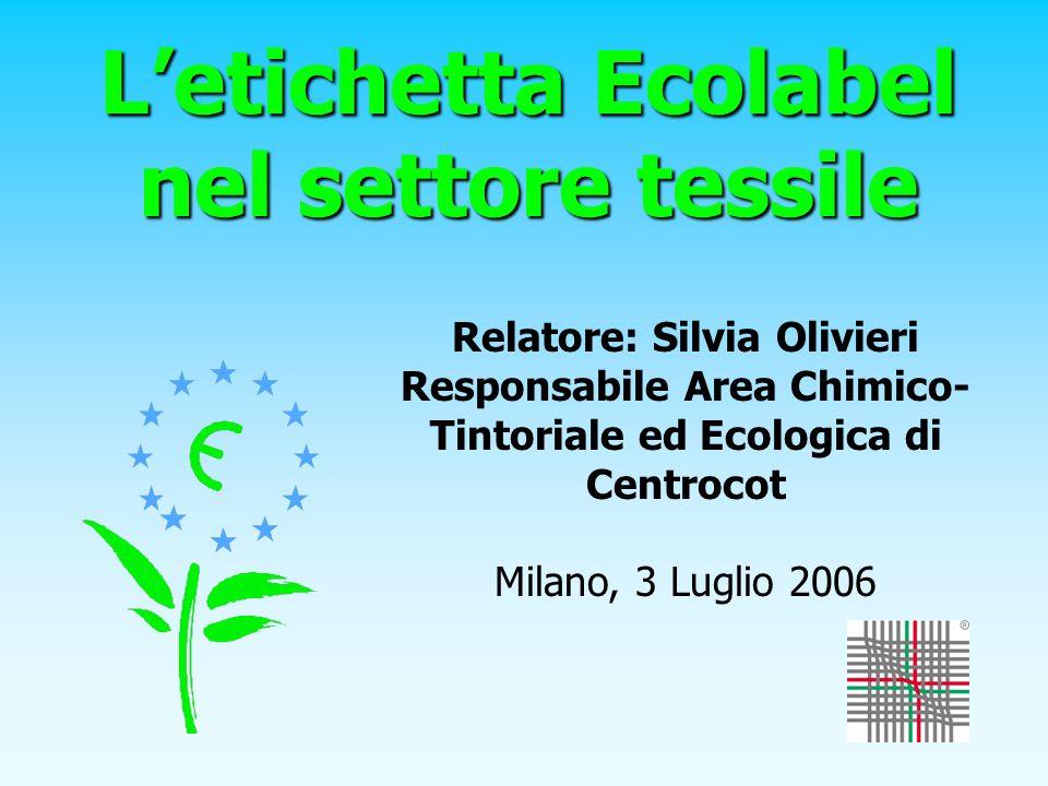 L'etichetta Ecolabel nel settore tessile