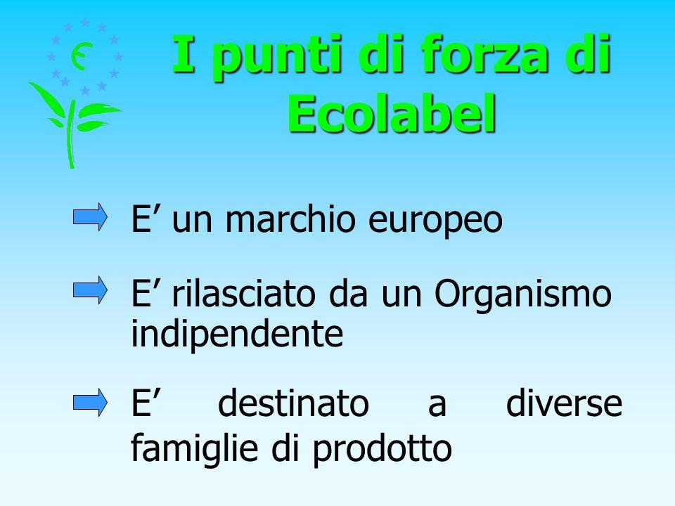 I punti di forza di Ecolabel