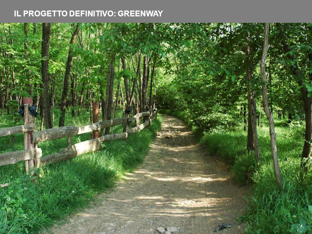 IL PROGETTO DEFINITIVO: GREENWAY
