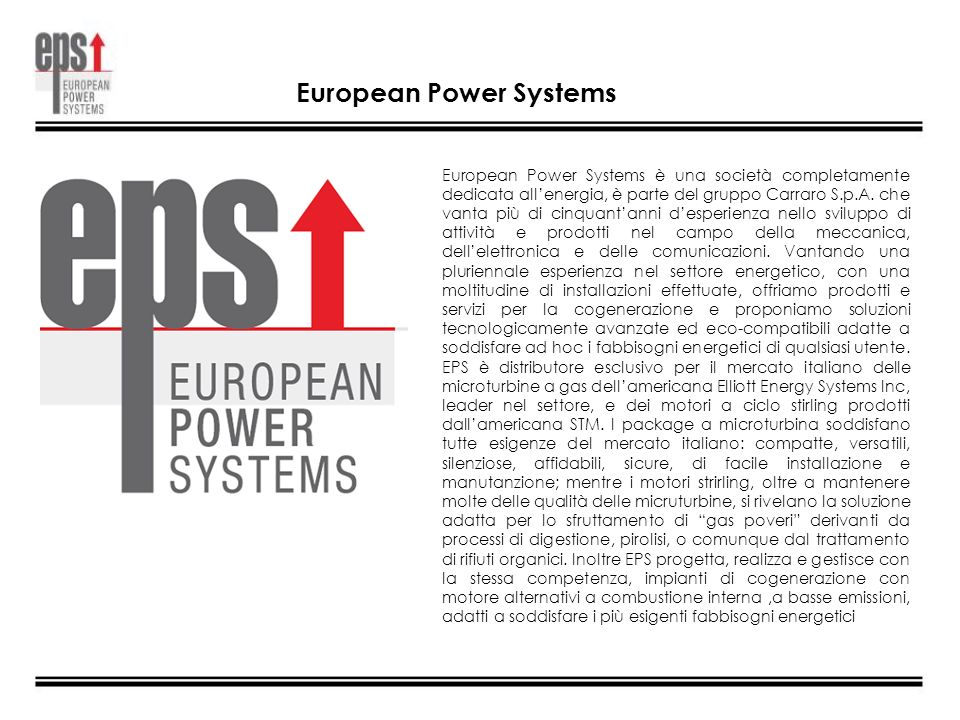 European Power Systems