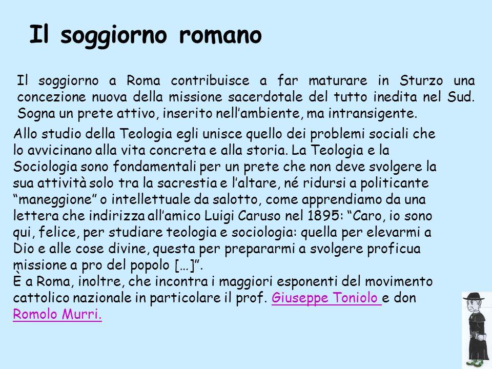 Il soggiorno romano