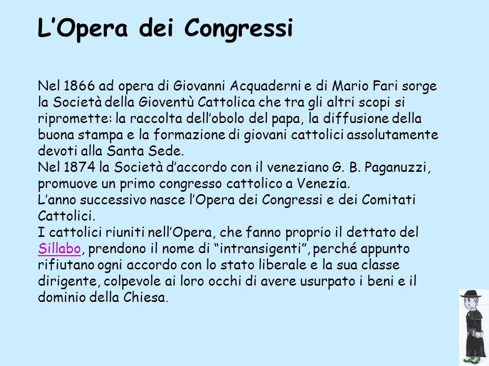 L'Opera dei Congressi