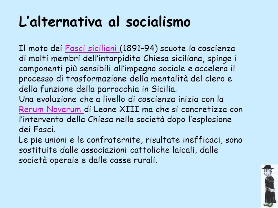 L'alternativa al socialismo