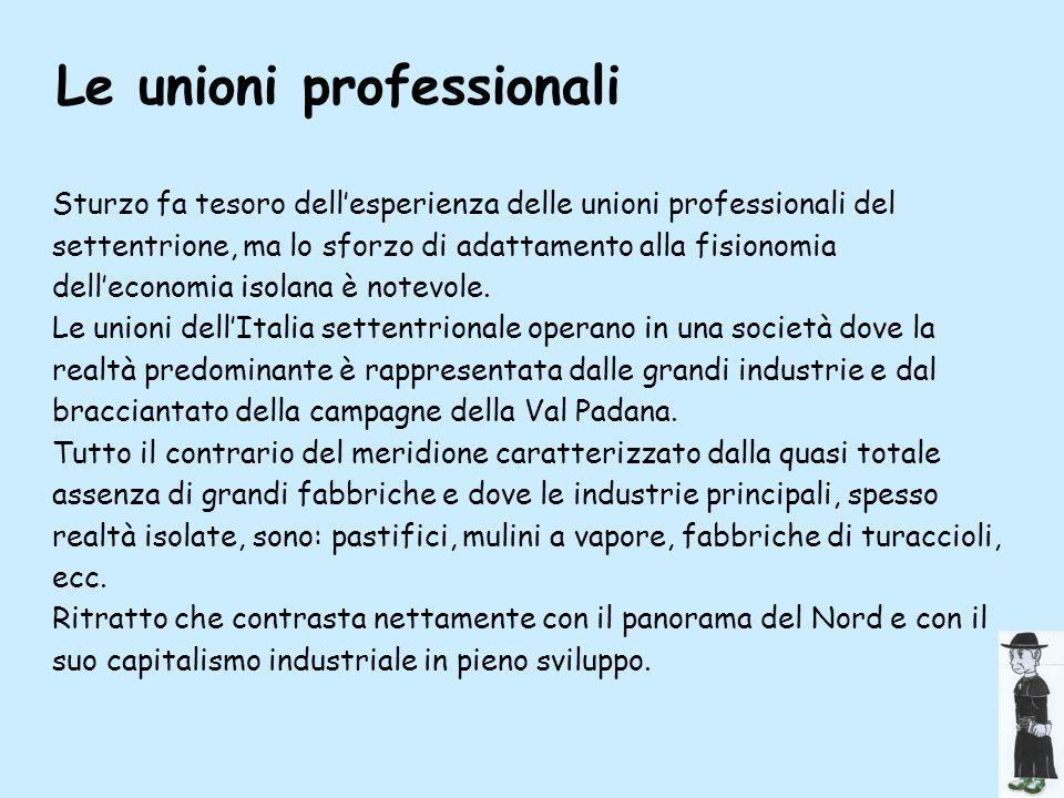 Le unioni professionali