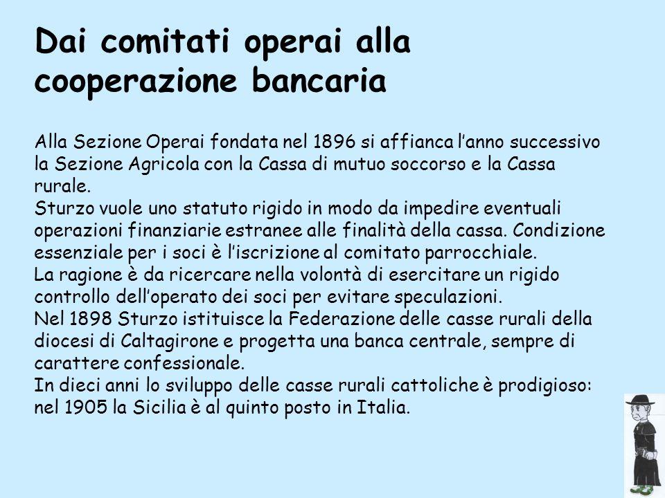 Dai comitati operai alla cooperazione bancaria