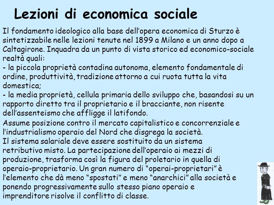 Lezioni di economica sociale