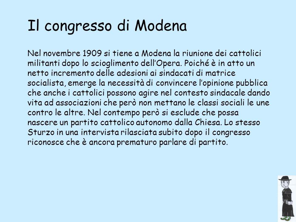 Il congresso di Modena