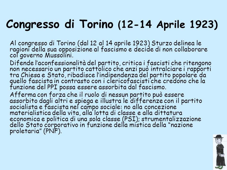 Congresso di Torino (12-14 Aprile 1923)