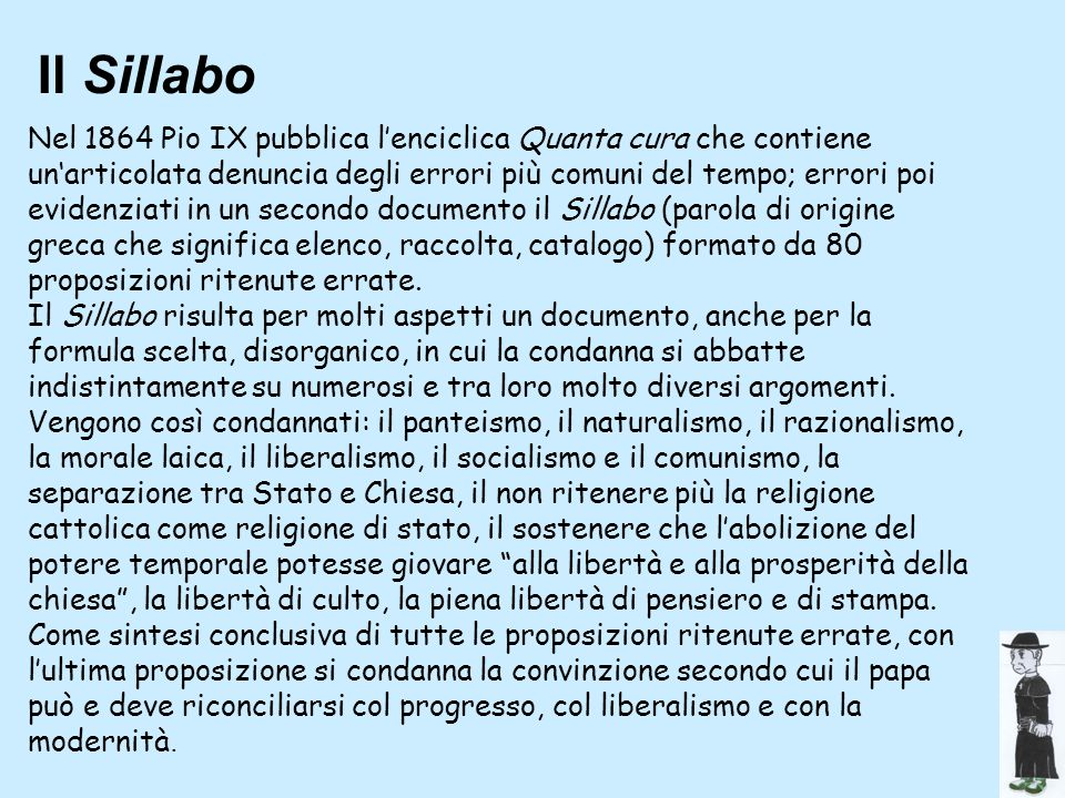 Il Sillabo