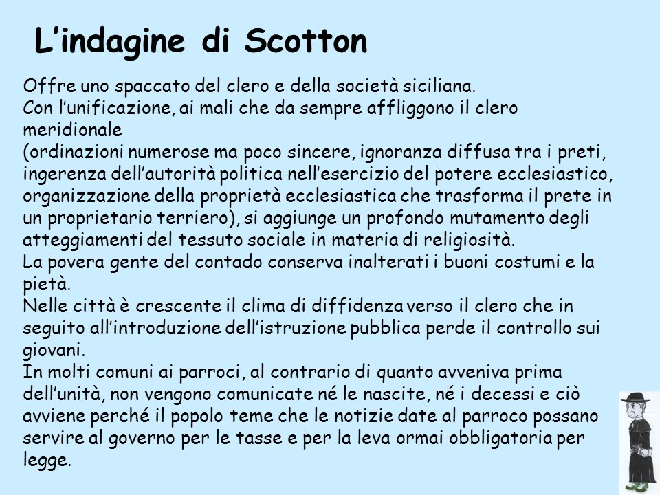 scotton L'indagine di Scotton