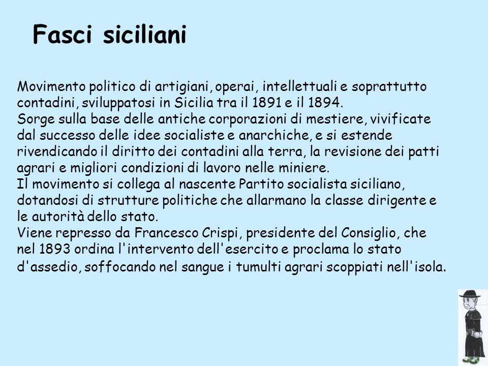 Fasci 2Fasci siciliani.